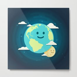 Just smile Metal Print