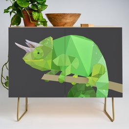 Low Poly Chameleon Credenza