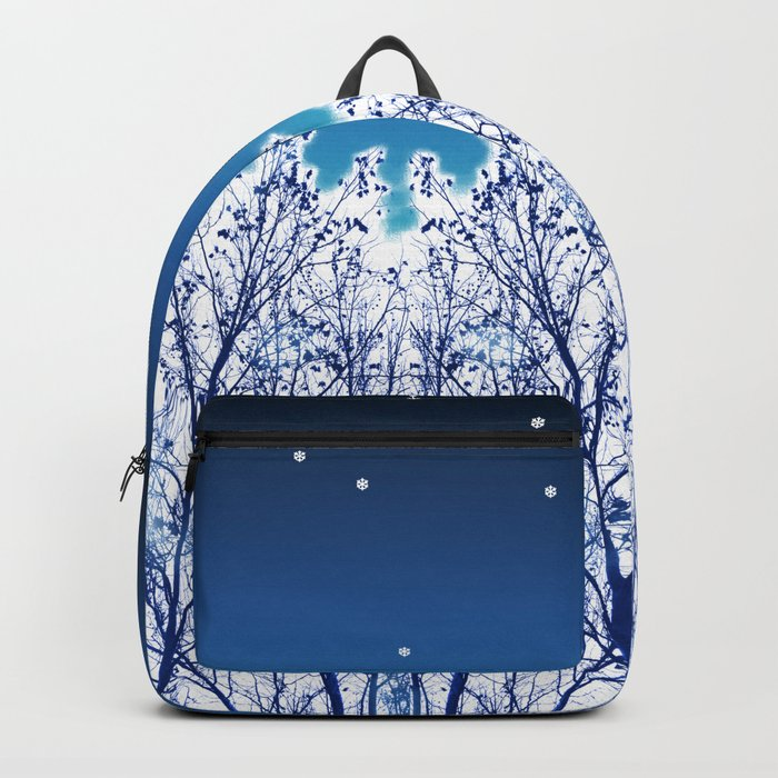 White Woods Snow Backpack