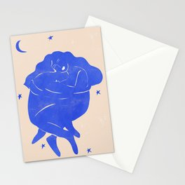 Blue Part II Stationery Cards