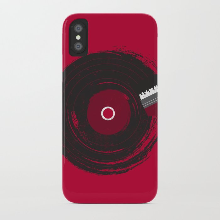 Art of Music (RED) iPhone Case