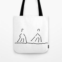 nordic walking fitness sport Tote Bag