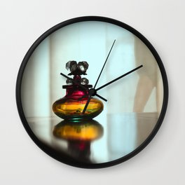 Scent of a Woman Wall Clock