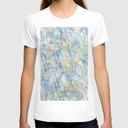 Smoke pattern T-shirt