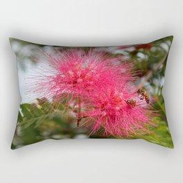 Fuchsia Fingers Rectangular Pillow