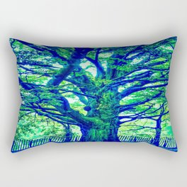 Underwater Wood 4 Rectangular Pillow