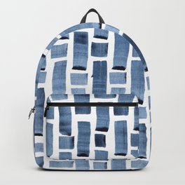 Blue Weave Backpack