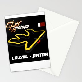 LOSAIL CIRCUIT MOTOGP Stationery Cards