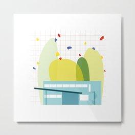 architecture - walter gropius Metal Print