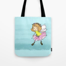 Sweet Little Pixie Curtsy  Tote Bag
