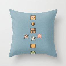 Super Mario Bros. 3 Throw Pillow