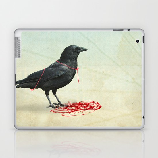 freedom  _ black crow Laptop & iPad Skin