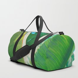 Pop Art Banana Leaf Duffle Bag