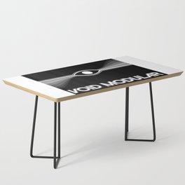 VOID Modular eye logo inverted Coffee Table