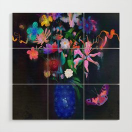 Floral Wood Wall Art