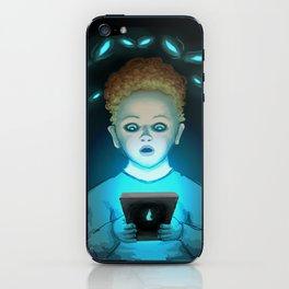 Scared iPhone Skin