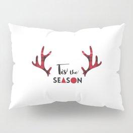 Tis the Season Antlers Pillow Sham
