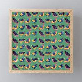 Fly Little Bird Framed Mini Art Print