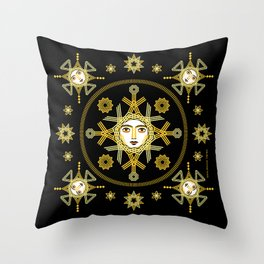 Stars by ©2018 Balbusso Twins Throw Pillow