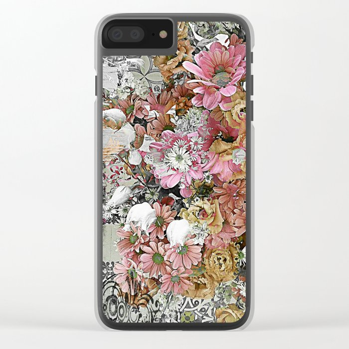Chic, Pink and Pretty Clear iPhone Case