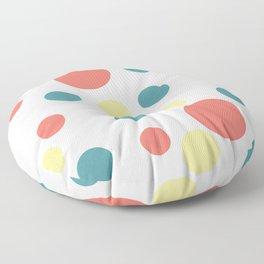 Coral Pop Floor Pillow