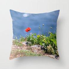 Spring Papaver 889 Throw Pillow