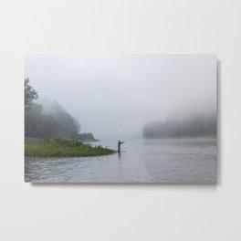 Morning Fishing Metal Print