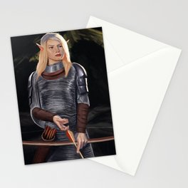 Elf Archer Stationery Cards