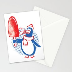 Popsicle Penguin Stationery Cards