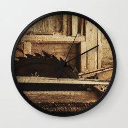 The Sawmill Wall Clock