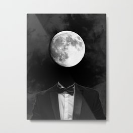 moon man Metal Print