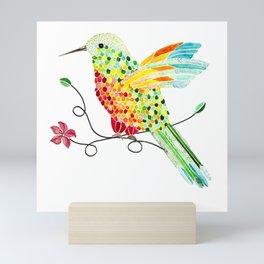 Bird of Costa Rica, hummingbird Mini Art Print