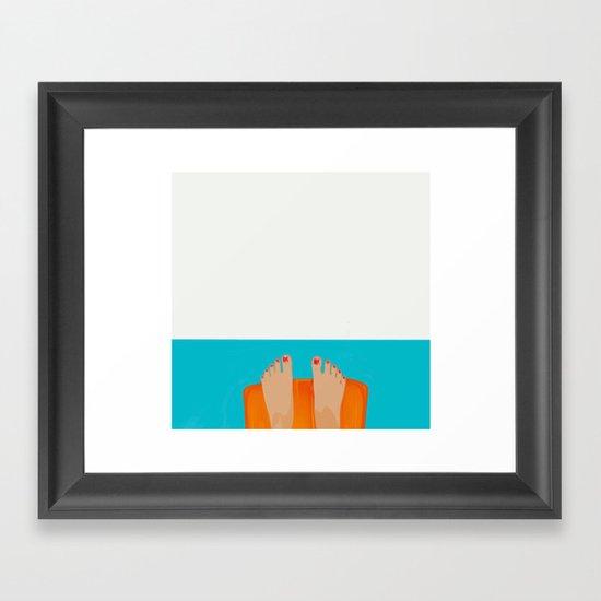I´m fine Framed Art Print