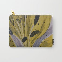 Yellow Tiger Lily Carry-All Pouch