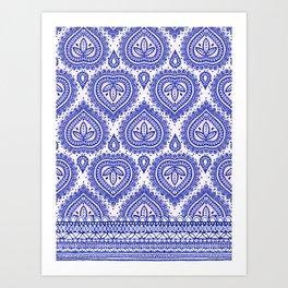 Decorative Blue Art Print