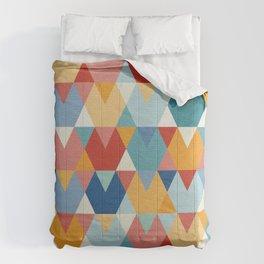 Colorful Geometry I Comforters