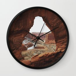 Window Rock Wall Clock