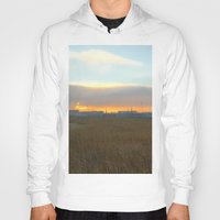 industrial Hoodies featuring Industrial sunset. by Mikhail Zhirnov