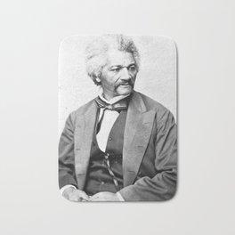 Frederick Douglass Vintage Photograph Circa 1850 Bath Mat