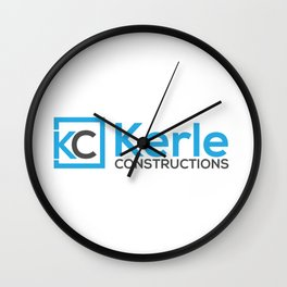 KC CONSTRUCTIONS Wall Clock