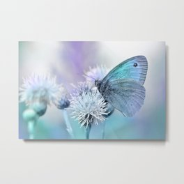 Butterfly blue 71 Metal Print