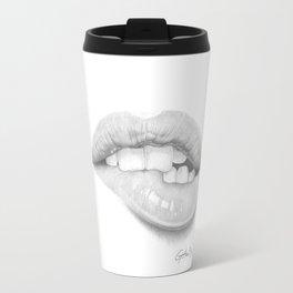 Desiderio / Desire - Lip Bite - Mouth Travel Mug