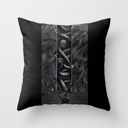 Hillbilly Hijinx Throw Pillow
