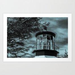 Close Light Art Print