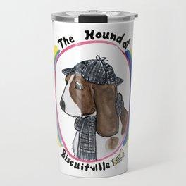 Hound of Biscuitville Travel Mug