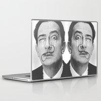 salvador dali Laptop & iPad Skins featuring Salvador Dali by Earl of Grey