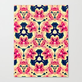 Kaleidoscope Orchids Canvas Print