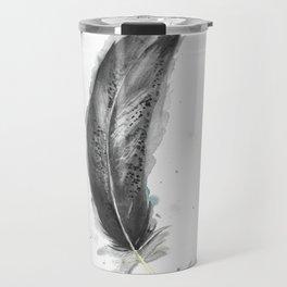 Immature Bald Eagle Feather Travel Mug