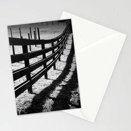 horses run Stationery Cards