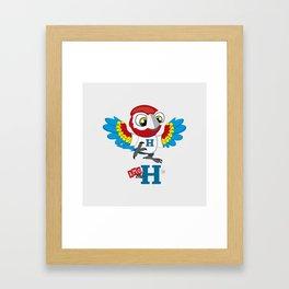 Amo mi H Framed Art Print